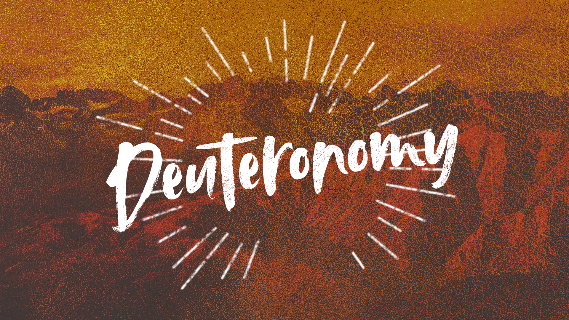 Week 9: Day 5- Deuteronomy 4:9